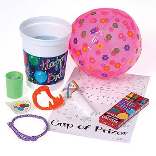 Birthday Cup Of Prizes