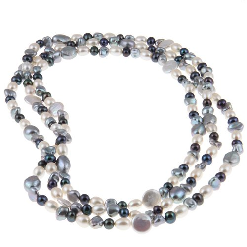 Freshwater Pearl 60-inch Endless Necklace (6-13 mm)