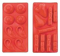 1 X Halloween Body Parts Ice Cube Trays Set of 2 Jello Molds