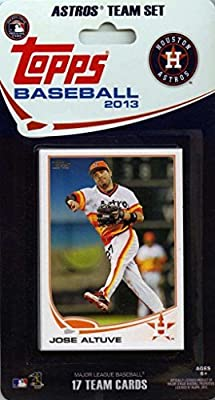 2013 Topps Houston Astros Factory Sealed Special Edition 17 Card Team Set
