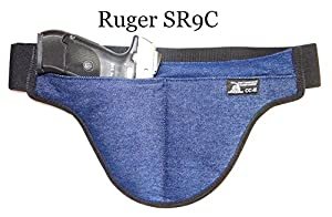 Second Generation Deep Concealed Crotch Carry Handgun Holster - The smart way to carry!