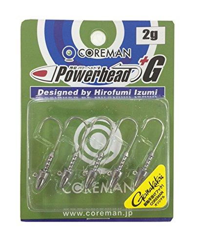 COREMAN(コアマン) COREMAN(コアマン) PH-02 パワーヘッド+G #201 無塗装 2gの商品画像