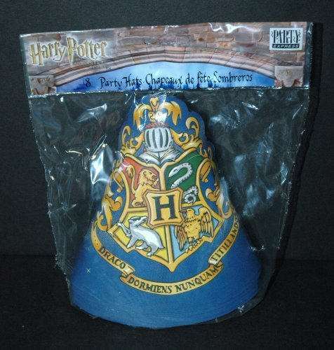 Harry Potter 8 Party Hats / Sombreros by Warner Bros.