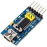 EasyWordMall 3.3V 5.5V FT232RL FTDI USB-TTL シリアル 232 アダプタ モジュール for Arduino