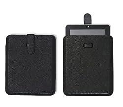 IAccy iPad/iPad2 Leather Sleeve IPADSL01 (Black)