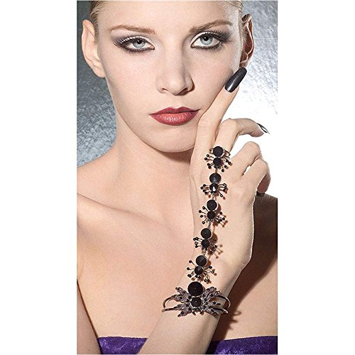 Wicked Spider Bracelet and Ring