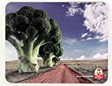 Single Toby Carvery Printed Placemat Table Mat, Broccoli Trees