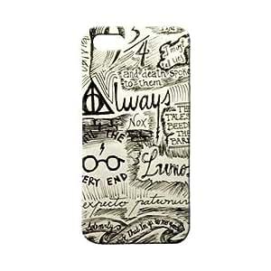 BLUEDIO Designer 3D Printed Back case cover for Apple Iphone 5 / 5S / SE - G1487