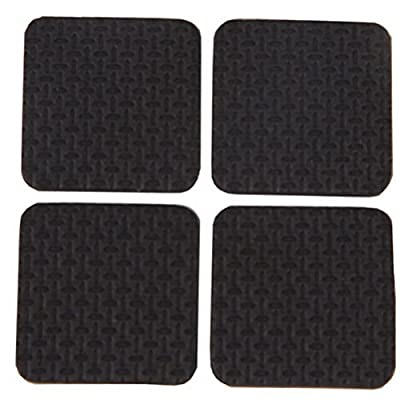 Waxman 1-Inch Self-Stick Round Felt Pads Value Pack