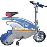 PowaBlade - Electric Bike - Leisure Style Frame with Rechargeable Lead Acid Battery - Independent Twist Grip Throttle - includes Bell, Battery Charger, Kick Stand Plus First Batteryby Powacycle