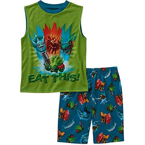 Skylanders Little Boy 2 PC Sleeveless Pajama Set (8)