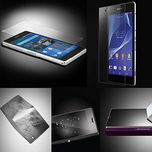 Xtra-Funky Exclusive High Quality Real 100% Genuine Tempered Glass Screen Protector For Sony Xperia Z-3