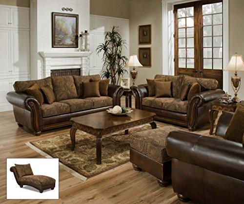 Simmons Upholstery 8104-08 Zephyr Aspen Chaise 1