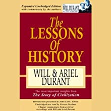 The Lessons of History Audiobook by  Will, Ariel Durant Narrated by Grover Gardner