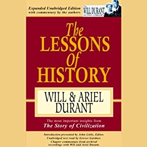 The Lessons of History | [ Will, Ariel Durant]