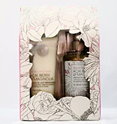 Victoria's Secret Acai Berry & Magnolia Gift Box Set Includes Fragrant Moisture Mist and Body Lotion