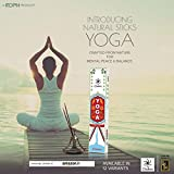 Yoga Natural And Pure Incense Sticks From Chakra Aroma - 12 Fragrances Dedicated To 12 Asanas Sticks Made From...