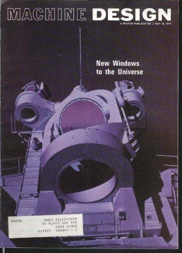 Machine Design Electric Car Reflectors Multimirror Telescope 5/16 1974