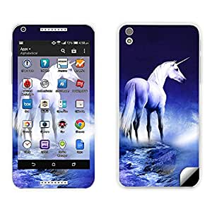 Skintice Designer Mobile Skin Sticker for HTC Desire 816, Design - Unicorn