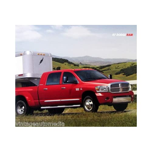 2007 Dodge Ram Pickup Truck Full Line vehicle brochure
