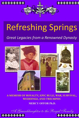 Book: Great Legacies, Refreshing Springs by Mercy Offor