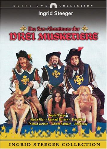 Die Sex-Abenteuer der drei Musketiere, DVD