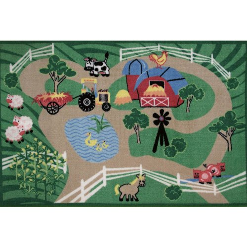 Farm Roads Area Rug 39