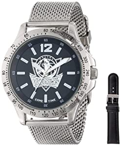 Game Time Mens NBA-CAG-DAL Cage NBA Series Dallas Mavericks 3-Hand Analog Watch by Game Time