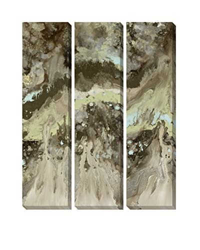 Blakely Bering Splurge 1, 2 & 3 Hand Embellished Giclee Prints, Multi, 54″ x 20″