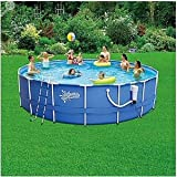 "Round Frame Pool 18' x 48"" With 1500 GPH SkimmerPlus Filter Pump"