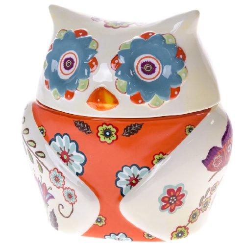 Owl Kitchen Decor Walmart: Owl Cookie Jar : Dinnerware & Serveware