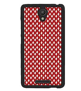 Xiaomi Redmi Note 2 Pro, Fuson Premium I Love Red Designer Metal Printed with Hard Plastic Back Case Cover