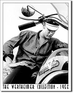 Elvis Presley Motorcycle Harley Davidson Wertheimer Collection Retro Vintage Tin Sign