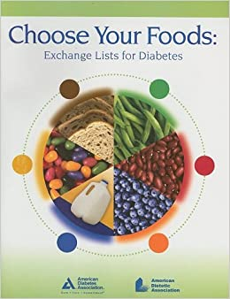 Choose Your Foods Exchange Lists For Diabetes