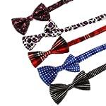 DBF0101 Fashion Mens Bow Ties for Xma...