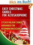 Easy Christmas Carols For Alto Saxoph...