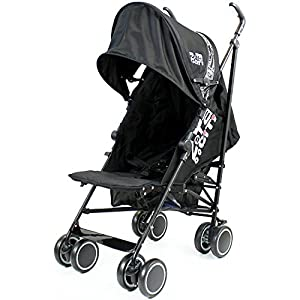 Zeta Citi Black Stroller Buggy Pushchair from Baby Travel