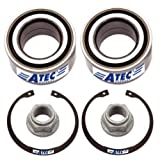 2x Wheel Bearing Kit front or rear axle left lh + right rh MERCEDES BENZ M CLASS W163 ML 230 ML 270 CDI ML 320 ML 350 ML 400 CDI ML 430 ML 500 ML 55 AMG