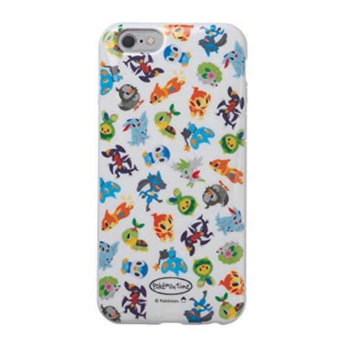 ポケモンセンターオリジナル ラウンドソフトジャケットジャケット iPhone 6/6s pokémon time DP