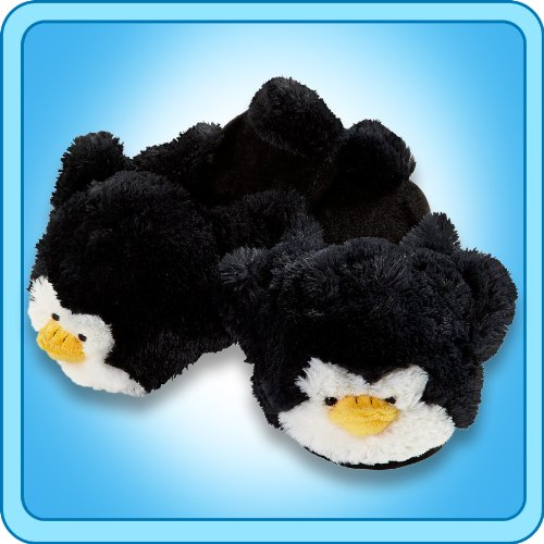 My Pillow Pets Penguin Slippers - Small