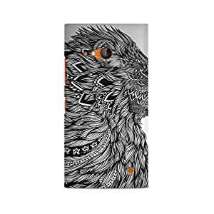 Mobicture Flowing Lion Premium Printed Case For Nokia Lumia 730