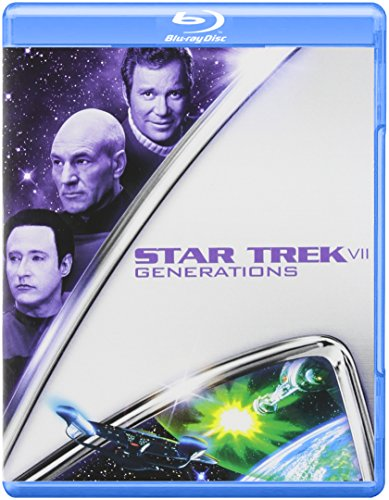 Blu-ray : Star Trek VII: Generations (, Dubbed, Widescreen)