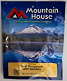 MOUNTAIN HOUSE Beef Stroganoff, 4.80oz
