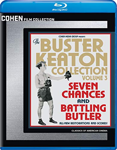 Blu-ray : Buster Keaton Collection 3