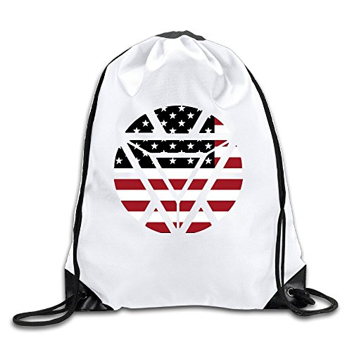 American Flag Badge Port Bag Drawstring Backpack (Hat American Chopper compare prices)