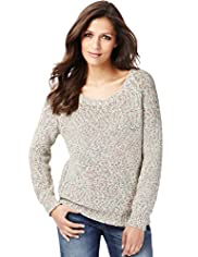 Indigo Collection Cotton Rich Knitted Jumper