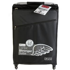 "ZFrame Super Lightweight Luggage Suitcase 26"" Black from Constellation"