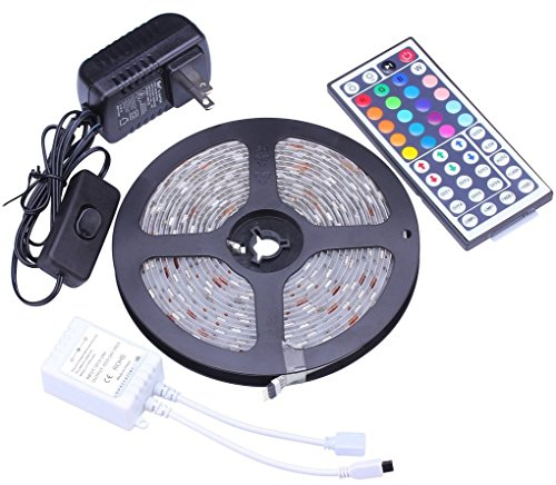 Led Landscape Lighting Controller: LED Flexible Strip Light W Remote Control Waterproof Color
