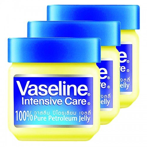 Vaseline Petroleum jelly 50 g / 3 pack. (Curad Petroleum Jelly Tube compare prices)