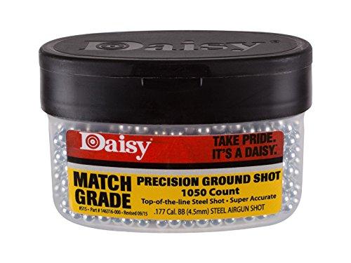 Daisy Match Grade Avanti Precision Ground Shot .177 Cal, 5.1 Grains, Steel BBs, 1050ct (Daisy Avanti compare prices)
